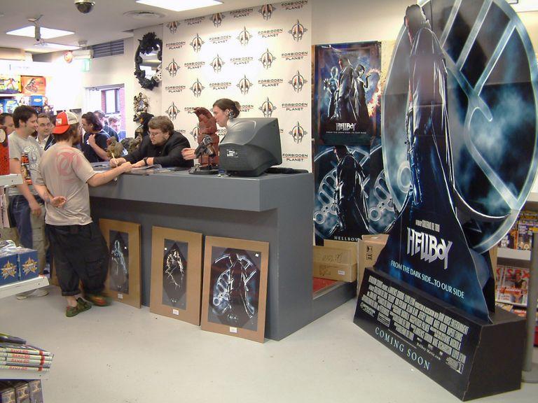 Guillermo Del Toro Signing
