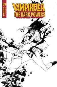 [Vampirella: Dark Powers #3 (Lee Black & White Variant) (Product Image)]