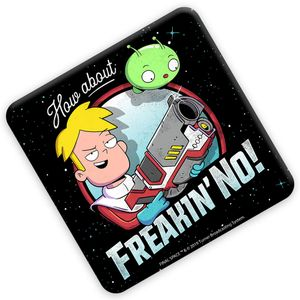 [Final Space: Coaster: Freakin No (Product Image)]