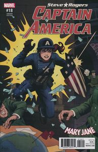 [Captain America: Steve Rogers #18 (Rivera Mary Jane Variant) (Secret Empire) (Product Image)]