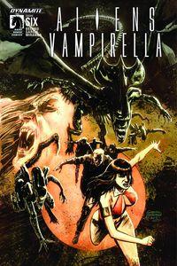 [Aliens/Vampirella #6 (Cover A Hardman) (Product Image)]