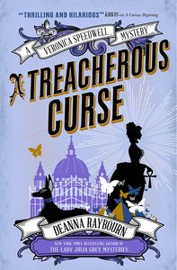 [A Veronica Speedwell Mystery: A Treacherous Curse (Product Image)]