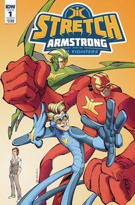 [Stretch Armstrong & Flex Fighters #1 (Cover B Koutsis) (Product Image)]