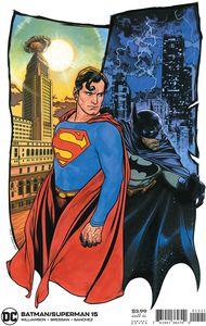 [Batman/Superman #15 (Travis Charest Variant) (Product Image)]