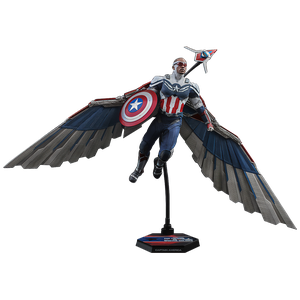 [Falcon & The Winter Soldier: Hot Toys Action Figure: Captain America (Product Image)]