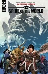 [Dungeons & Dragons: At The Spine Of The World #4 (Cover A Coccolo) (Product Image)]