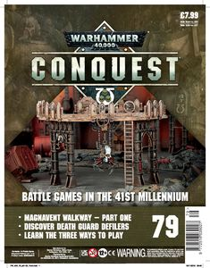 [Warhammer 40K: Conquest: Figurine Collection #79 (Product Image)]