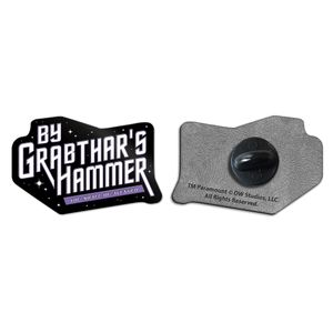[Galaxy Quest: Enamel Pin Badge: By Grabthar's Hammer! (Product Image)]