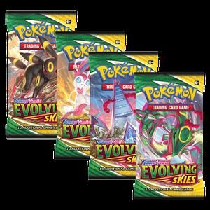 [Pokémon: Sword & Shield: 7: Evolving Skies: Booster (Product Image)]