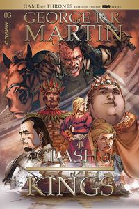 [George R.R. Martin's A Clash Of Kings #3 (Cover B Rubi) (Product Image)]