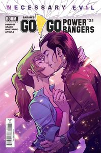 [Go Go Power Rangers #21 (2nd Printing) (Product Image)]