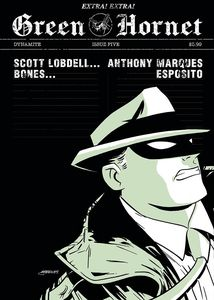 [Green Hornet #5 (Marques Black & White Variant) (Product Image)]
