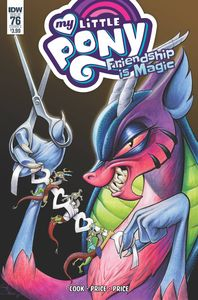 [My Little Pony: Friendship Is Magic #76 (Cover A Price) (Product Image)]