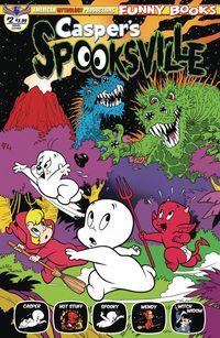 [The cover for Casper's Spooksville #2 (Shanower Main Cover)]