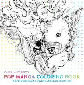 [Pop Manga Coloring Book (Product Image)]