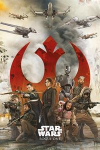 [Rogue One: A Star Wars Story: Poster: Rebels (Product Image)]