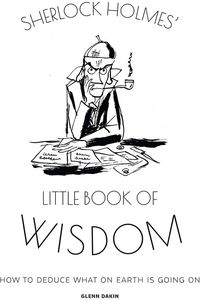 [Sherlock Holmes' Little Book Of Wisdom (Hardcover) (Product Image)]