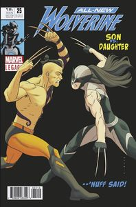 [All New Wolverine #25 (2nd Printing Anka Variant) (Legacy) (Product Image)]