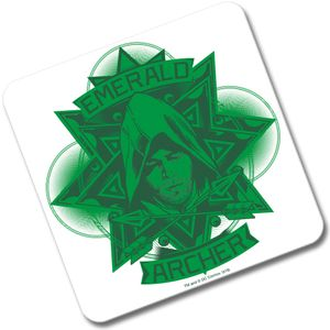 [Arrowverse: Coaster: Emerald Archer (Product Image)]
