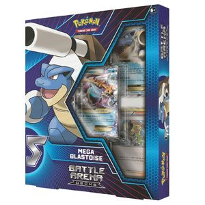 [Pokemon: Battle Arena Decks: Mega Charizard X Mega Blastoise (Product Image)]