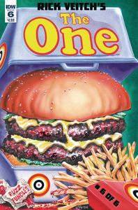 [Rick Veitch: The One #6 (Product Image)]
