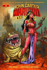 [John Carter: Warlord Of Mars #3 (Cover D Exclusive Subscription Variant) (Product Image)]