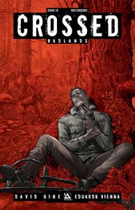 [Crossed: Badlands #18 (Red Crossed Variant) (Product Image)]