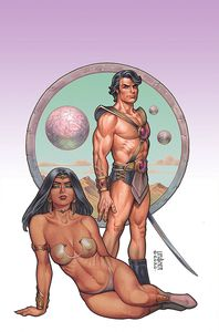 [Dejah Thoris: Winters End: One Shot (Linsner Virgin Variant) (Product Image)]