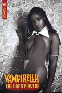 [Vampirella: Dark Powers #2 (Cosplay B&W Variant) (Product Image)]