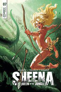 [Sheena #7 (Cover C Galindo) (Product Image)]