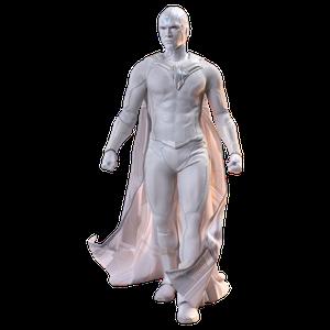 [Wandavision: Hot Toys Action Figure: The Vision (Product Image)]