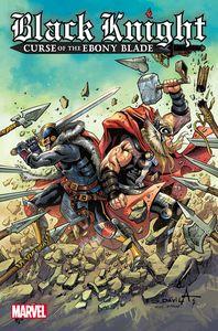 [Black Knight: Curse Ebony Blade #3 (Davila Variant) (Product Image)]