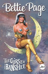 [Bettie Page: The Curse Of The Banshee #4 (Cover B Linsner) (Product Image)]