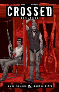 [Crossed: Badlands #7 (Red Crossed Variant) (Product Image)]