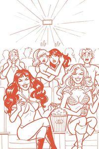 [Red Sonja & Vampirella Meet Betty & Veronica (Parent Tint Virgin Variant) (Product Image)]