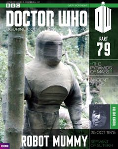 [Doctor Who: Figurine Collection Magazine #79 Robot Mummy (Product Image)]