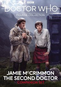 [Doctor Who Figure Collection: Companion Set #6: 2nd Doctor & Jamie McCrim (Product Image)]
