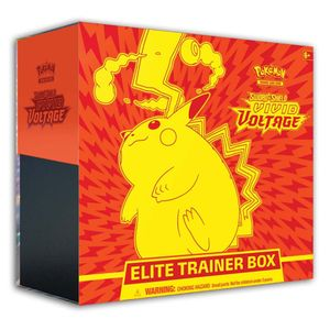 [Pokemon: Sword & Shield 4: Elite Trainer Box: Vivid Voltage (Product Image)]