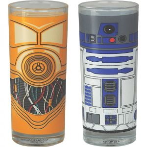 [Star Wars: Glass Set: R2-D2 & C-3PO (Product Image)]