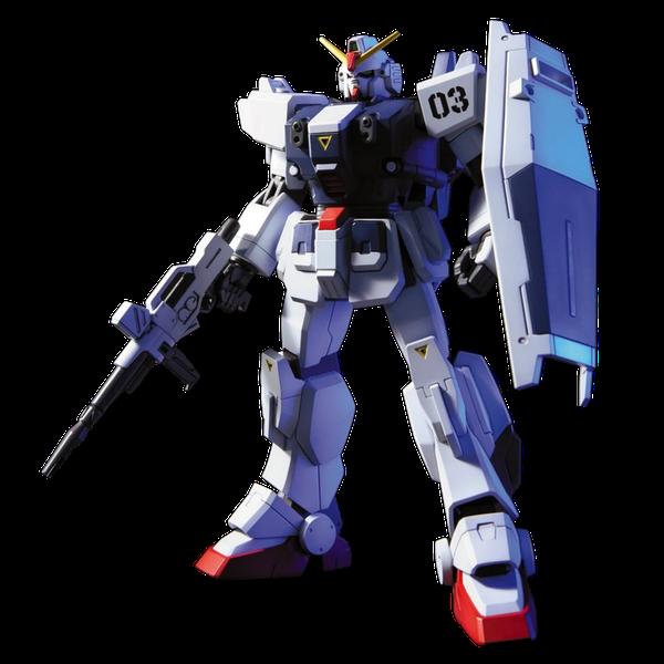 [The cover for Gundam: HGUC Model Kit: RX-79BD-3 Blue Destiny Unit 3]