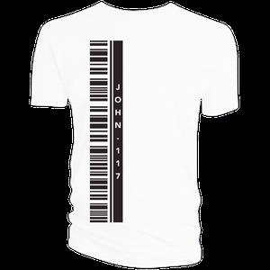[Halo 2: Anniversary Collection: T-Shirt: John 117 Barcode (Product Image)]