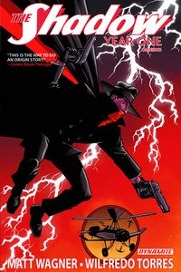 [The Shadow: Year One: Omnibus (Hardcover - DM Exclusive Signed Wagner Edition) (Product Image)]