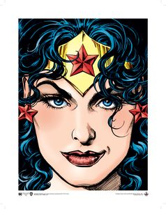 [Wonder Woman: Art Print: Issue 128 Cover By Garcia-Lopez (Product Image)]