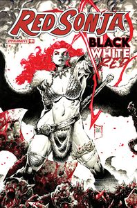 [Red Sonja: Black White Red #1 (Cover C Tan) (Product Image)]