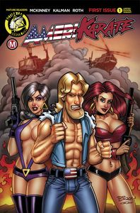 [Amerikarate #1 (Cover D Explosive Threesome) (Product Image)]