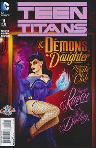 [Teen Titans #11 (Bombshells Variant Edition) (Product Image)]