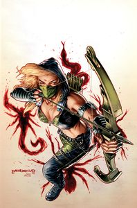[Robyn Hood: 2021 Annual: Swarm (Cover A Barrionuevo) (Product Image)]