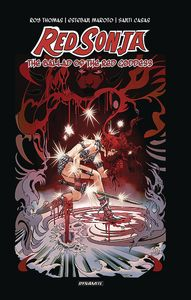 [Red Sonja: The Ballad Of The Red Goddess (Thomas Signed Edition Hardcover) (Product Image)]