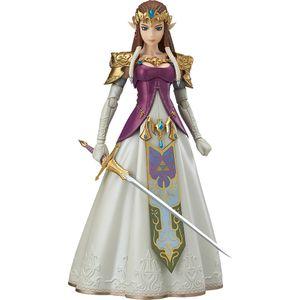 [Legend Of Zelda: Twilight Princess: Figma Action Figure: Zelda (Product Image)]