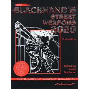 [Cyberpunk 2020: RPG: Blackhand's Weapons (Product Image)]